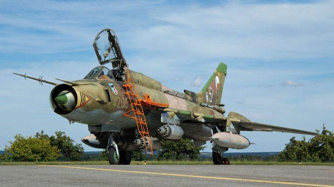 مقاتلة سو-22 الروسية