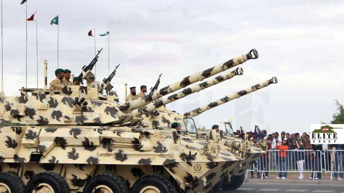 مركبات بيرانا تابعة للقوات المسلحة القطرية