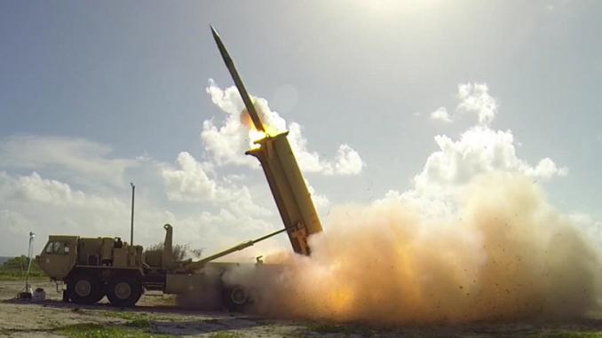 منظومة الدفاع الصاروخي THAAD