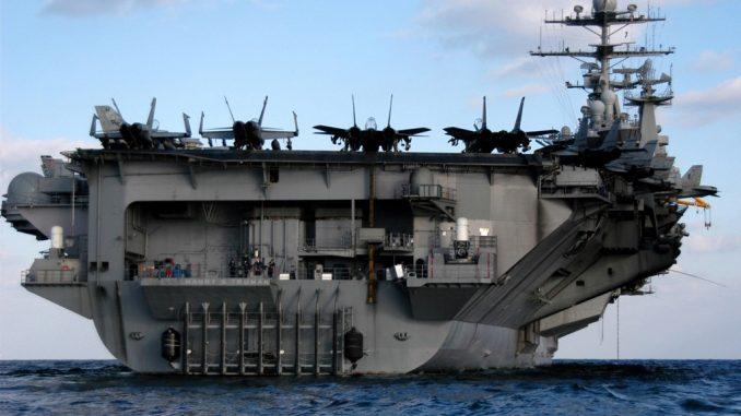 حاملة الطائرات الأميركية USS Harry Truman