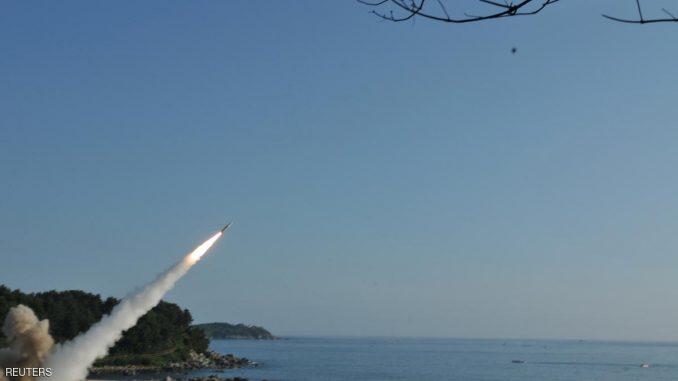 إطلاق صاروخ كوري شمالي