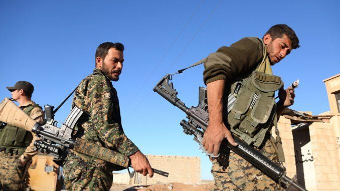 عناصر من المعارضة السورية