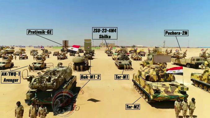 صورة لعناصر من وحدات الدفاع الجوي التابعة للمنطقة الشمالية العسكرية: