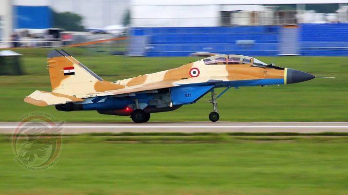 مقاتلة MiG-29M/M2 المصرية (بوابة الدفاع المصرية)