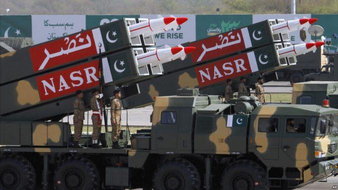 صاروخ نصر الباكستاني البالستي قصير المدى