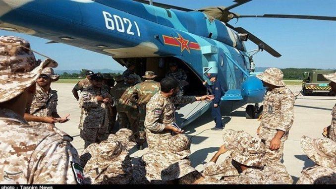 تدريبات عسكرية صينية- إيرانية