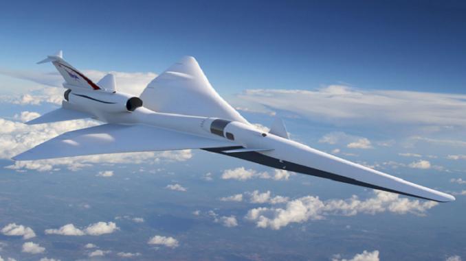 نموذج طائرة أسرع من الصوت
