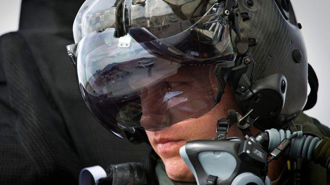 خوذة مقاتلة F-35B