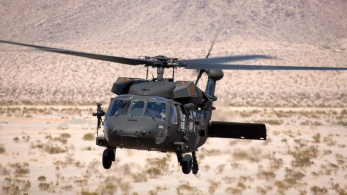 """طائرة """"بلاك هوك"""" المروحية"""