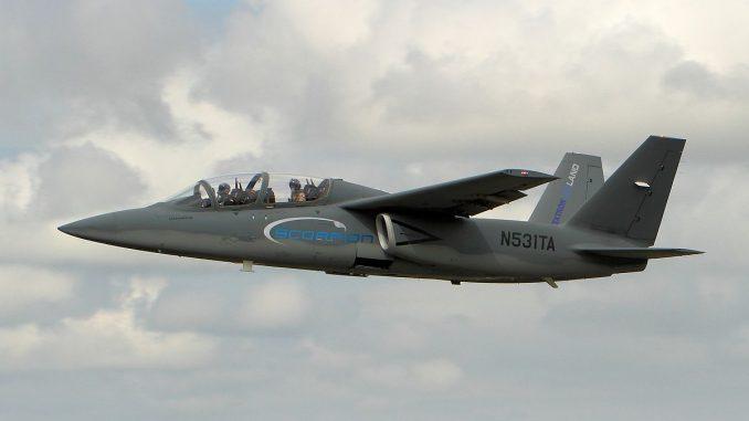 """طائرة الهجوم الخفيف """"سكوربيون"""""""