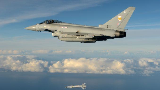 مقاتلة تايفون تابعة لسلاح الجو الملكي