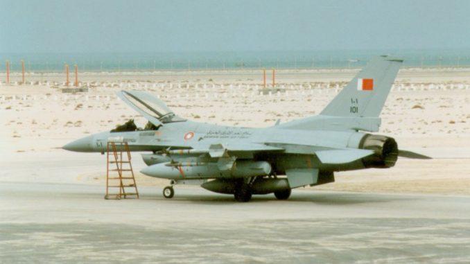 مقاتلة إف-16 البحرينية