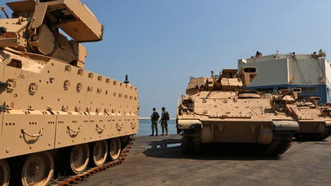 مركبات برادلي للجيش اللبناني
