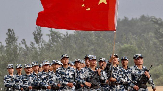 استعراض عسكري للجيش الصيني