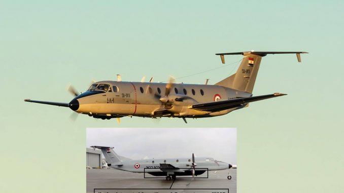 طائرة الحرب الإلكترونية Beechcraft 1900C المصرية