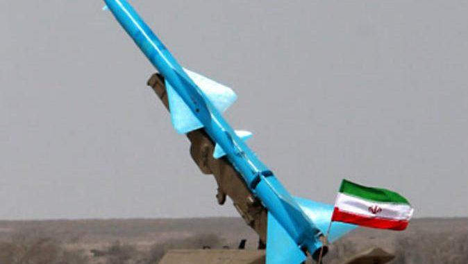 صاروخ إيراني الصنع