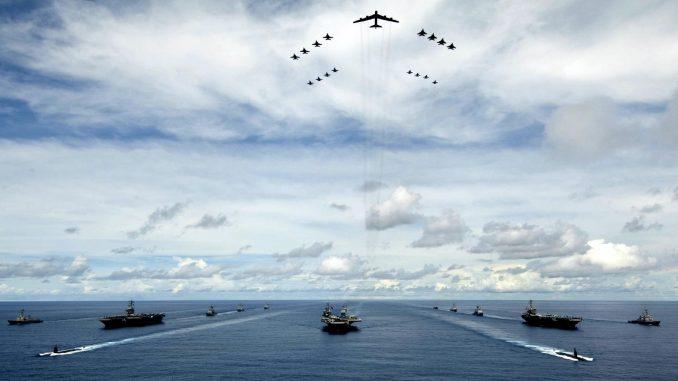 القوة العسكرية الأميركية