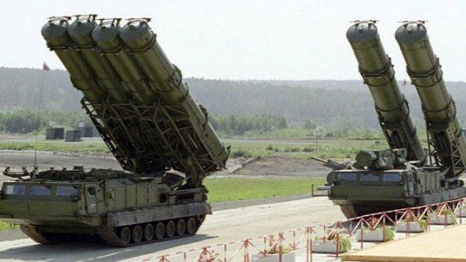 منظومات دفاع جوي روسية من طراز إس 400