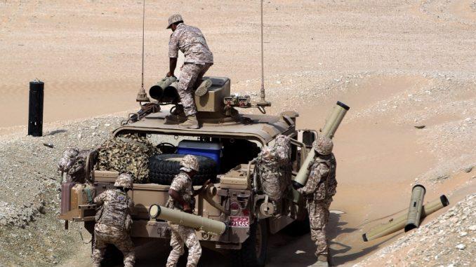 عناصر من القوات المسلحة الإماراتية