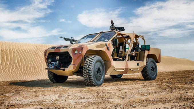 مركبة التدخل السريع RIV من إنتاج شركة نمر