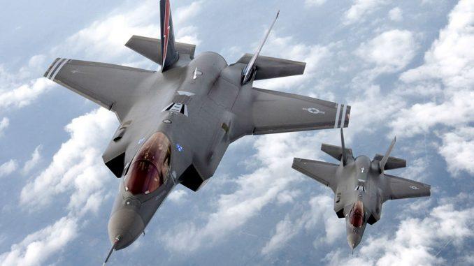 مقاتلتا أف-35