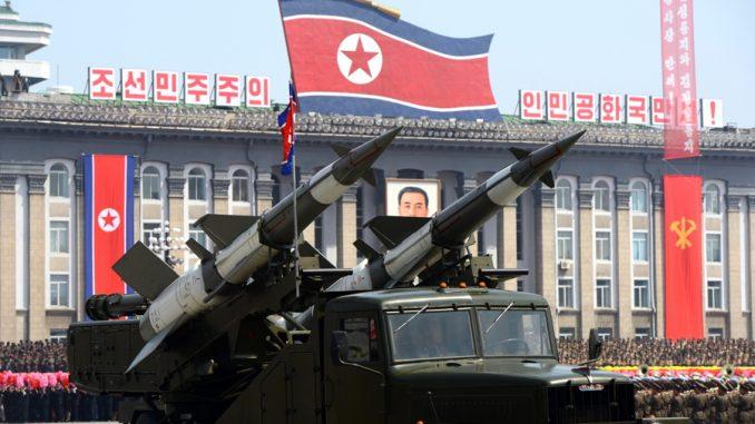 صواريخ كورية شمالية