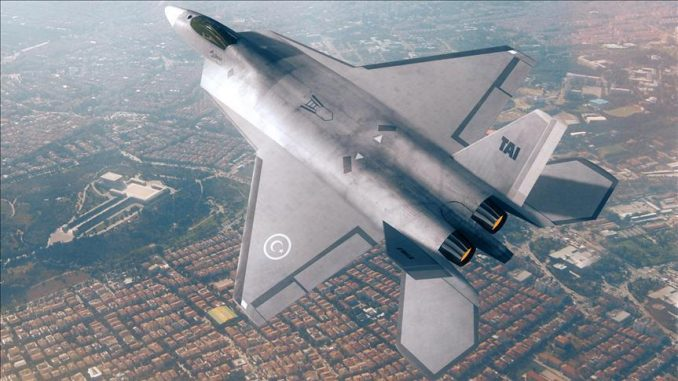 مقاتلة TF-X التركية