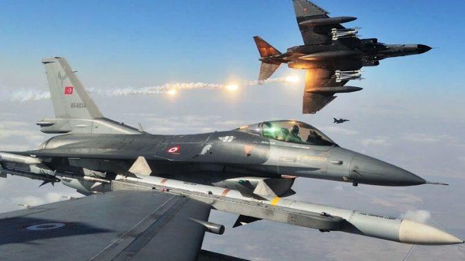 مقاتلة أف-16 تركية
