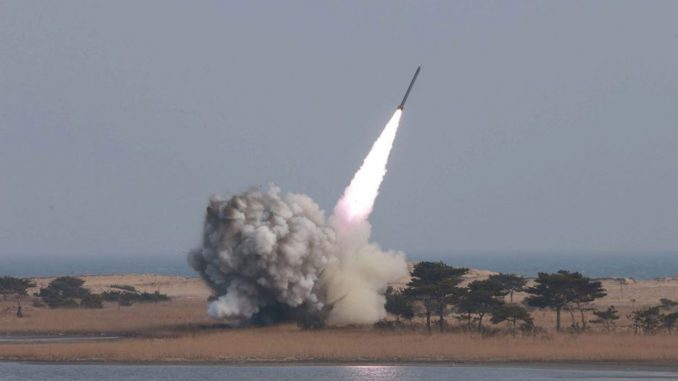 اختبار صاروخي كوري شمالي