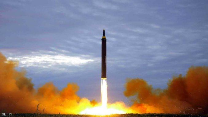 تجارب كوريا الشمالية الصاروخية