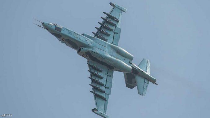 مقاتلة من نوع سوخوي تابعة لسلاح الجو الكوري الشمالي