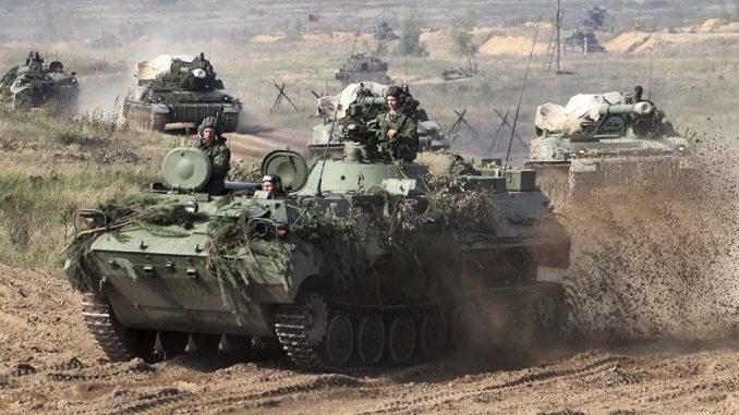 عناصر من الجيش الروسي خلال مناورات عسكرية