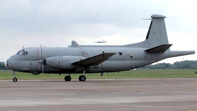 """طائرة دورية من نوع """"اتلانتيك"""" تابعة للبحرية الإيطالية"""