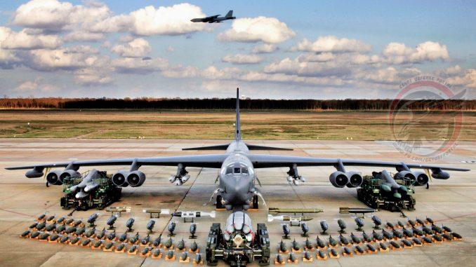 قاذفة بي-52 الأميركية (بوابة الدفاع المصرية)