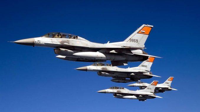 مقاتلات أف-16 تابعة لسلاح الجو المصري