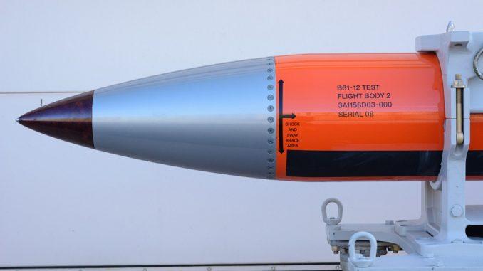 """قنبلة """"بي61-12"""" النووية الأميركية"""