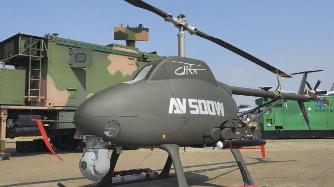 هليكوبتر مسلحة بدون طيار AV500W