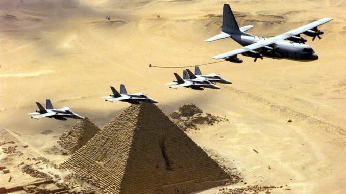التدريب العسكري الأميركي المصري عام 1999