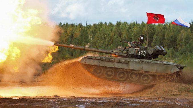 دبابة تي-80 الروسية