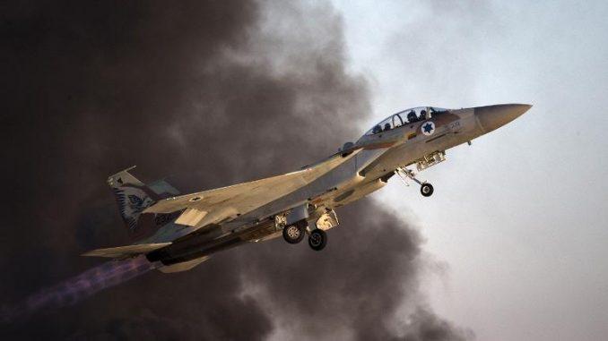 مقاتلة أف-16 اسرائيلية