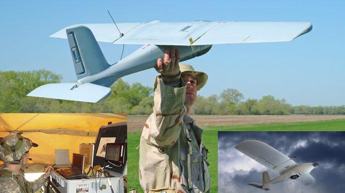 طائرة Desert Hawk III من دون طيار