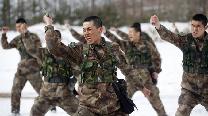 القوات الصينية