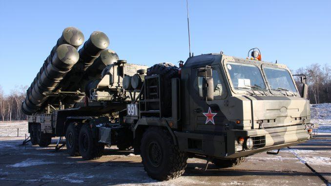 منظومة صواريخ أس-400
