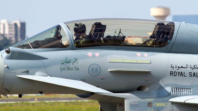 مقاتلة تايفون سعودية