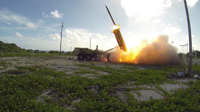 """نظام """"ثاد"""" للدفاع الصاروخي"""