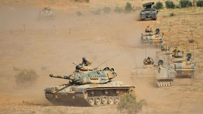 دبابات تابعة للجيش التركي