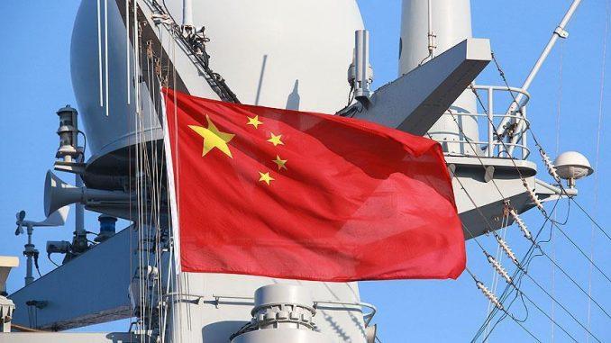 سفينة حربية صينية