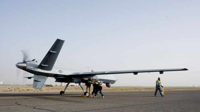 """طائرة """"أم كيو-9 ريبير"""" من دون طيار"""