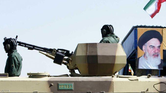 دبابة إيرانية