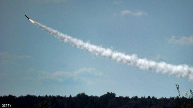 إختبار صاروخ